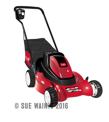 Toro Mower Illustration